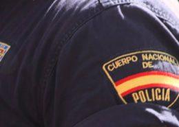 Polizei in Spanien